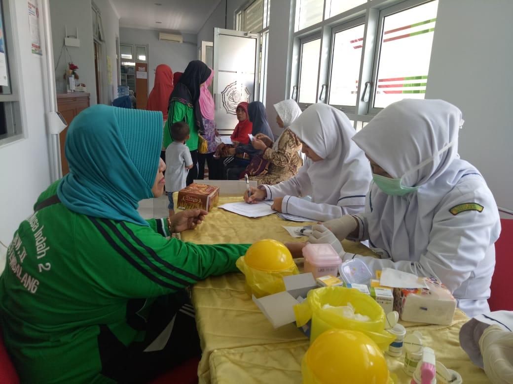 Pengabmas DIII TLM – Pemeriksaan Kesehatan Dies Natalis Poltekkes Kemenkes Semarang ke XVIII