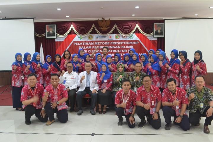 Pelatihan Metode Preceptorship dalam Pembimbingan Klinik bagi Clinical Instructur (CI) di Unit Donor Darah PMI Kota Semarang