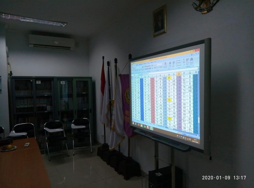 Rapat Yudisium DIII Analis Kesehatan 09 Januari 2020