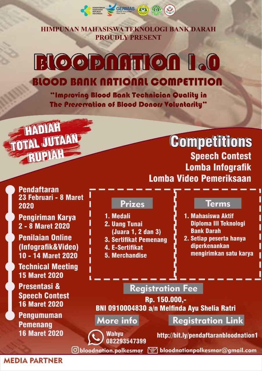 Blood Bank Competition 16 Maret 2020