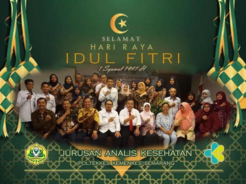 Selamat Hari Raya 'Idul Fitri 1 Syawal 1441 H