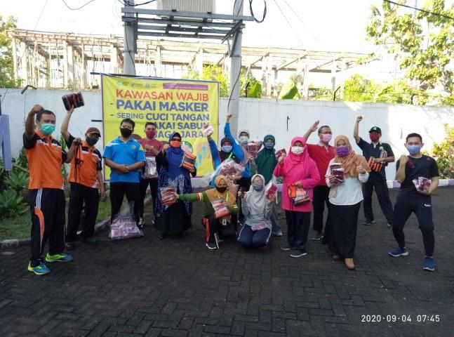 Bakti Sosial Pembagian Masker wilayah Pedurungan 04 September 2020
