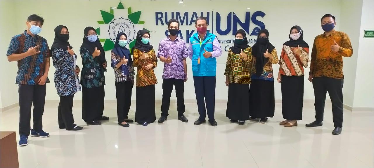 Serah Terima 10 Relawan ATLM dari Poltekkes Semarang ke Rumah Sakit di Jawa Tengah 2020-09-11