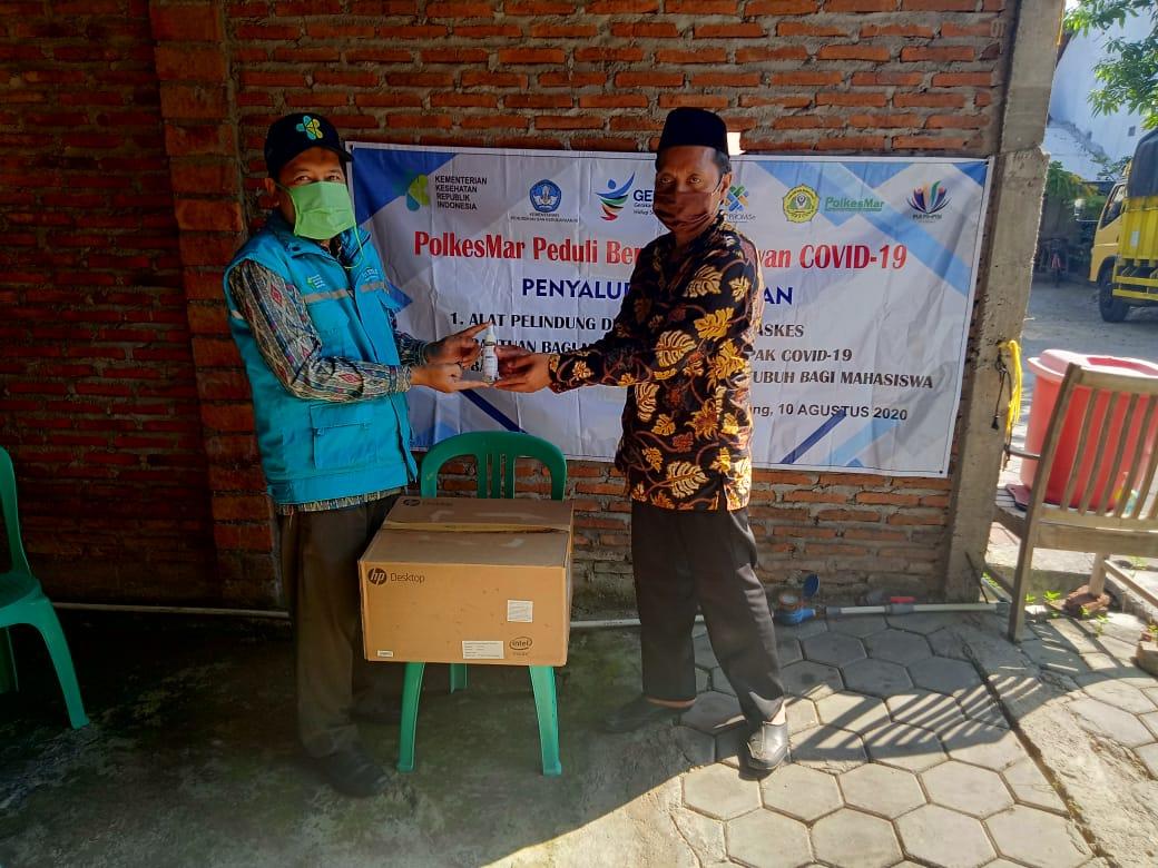 Pengabmas Penyerahan Masker ke Ketua RW dan Kelurahan Bangetayu Wetan – Kecamatan Genuk Semarang 2020-09-18
